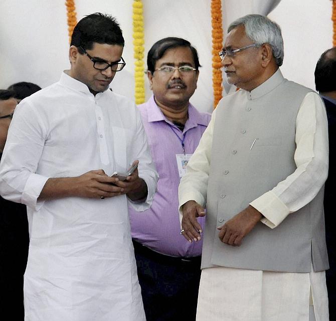 नीतीश कुमार और बीजेपी के साथ आने से निराश हैं प्रशांत किशोर