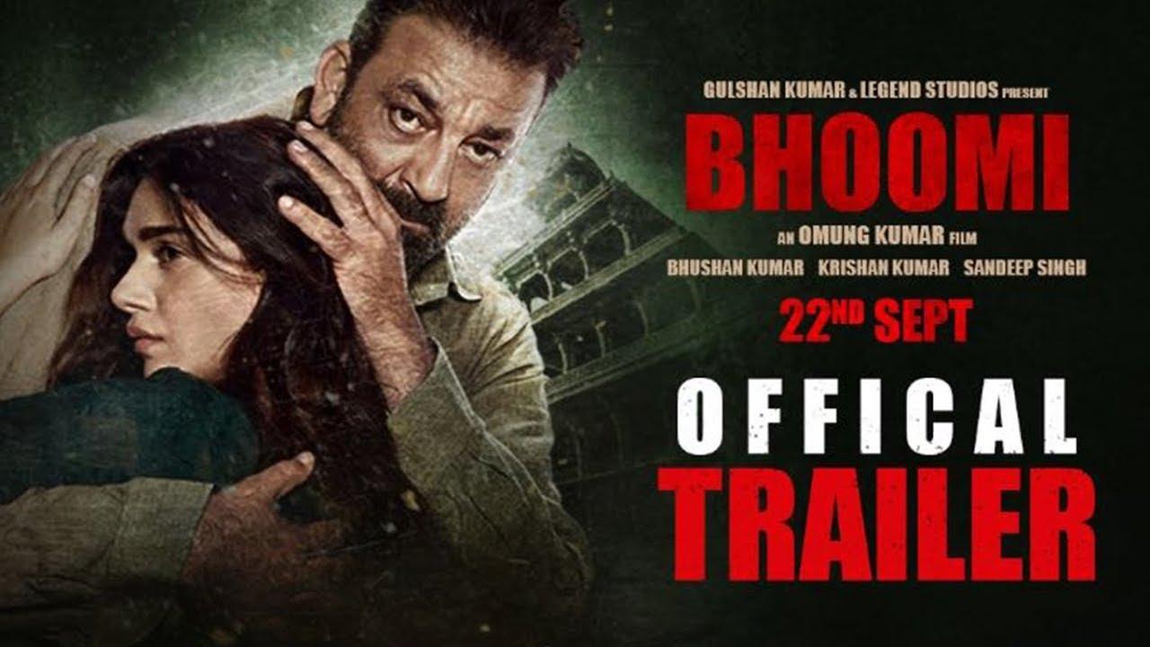 Bhoomi Official Trailer | Sanjay Dutt | Aditi Rao Hydari  - Releasing on 22 September