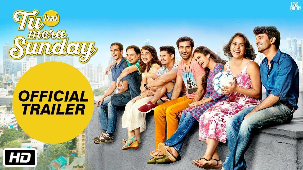 Official Trailer : Tu Hai Mera Sunday | Barun Sobti | Shahana Goswami | Vishal Malhotra | Rasika Duggal