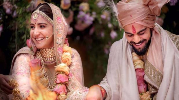 विराट कोहली और अनुष्का शर्मा शादी के बंधन में बंधे : इटली में हुई शादी, 21 को दिल्ली में रिसेप्शन 26 को मुंबई में पार्टी