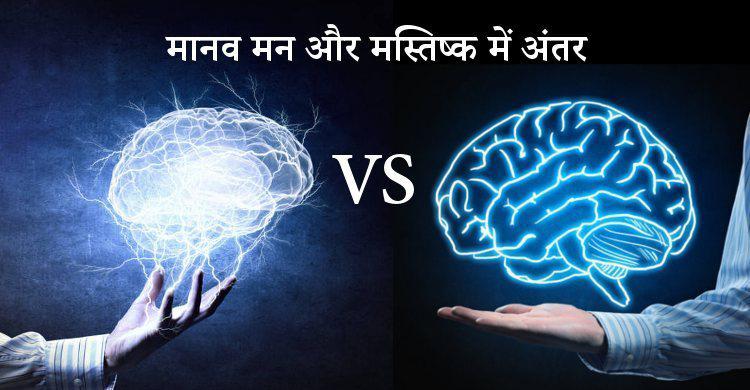मन का मस्तिष्क से क्या सम्बन्ध है ?